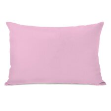 Solid Throw Pillow I