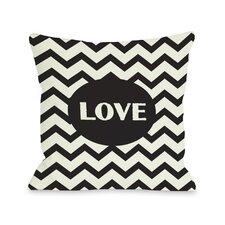Love Chevron  Pillow