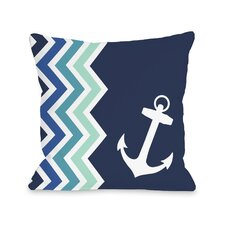 Chevron Anchor Pillow