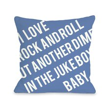 Put Another Dime in the Jukebox Baby Pillow