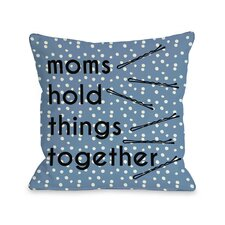 Hold Things Together Dots Pillow