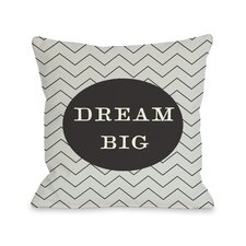 Dream Skinny Chevron Pillow