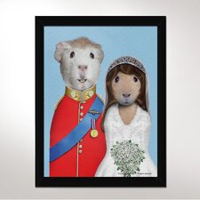 Mr & Mrs Framed Art