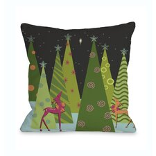 Christmas Tree Parade Pillow