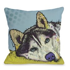 Doggy Décor Siberian Husky Pillow