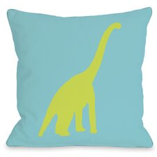 Apatosaurus Polka Dots Pillow