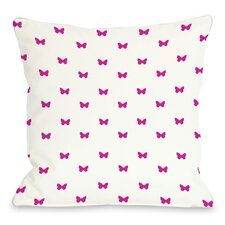 Mini All Over Butterfly  Pillow