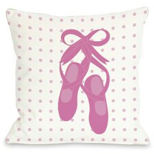 Bella Ballet Slippers Pillow