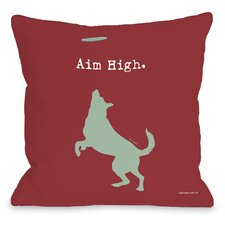 Doggy Décor Aim High Dog Pillow