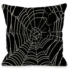 All Over Spider Webs Pillow