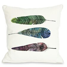 Apache Rainbow Feather Pillow