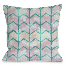 Ombre Chevron Pillow
