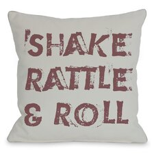 Shake Rattle and Roll Pillow