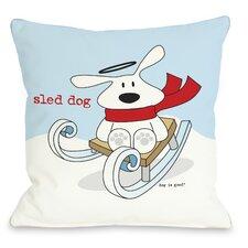 Doggy Décor Sled Dog Pillow