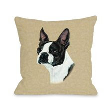 Doggy Décor BostonTerrier Pillow