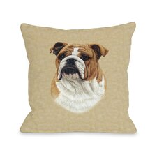 Doggy Décor Bulldog Pillow