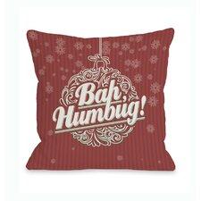Bah Humbug Ornament Pillow