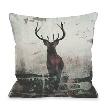 Red Stag Pillow