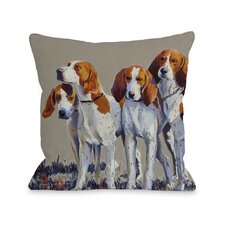 Doggy Décor Hound Pack Pillow
