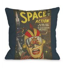 Space Action No 2 Pillow
