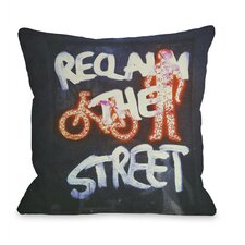 Reclaim The Street Pillow