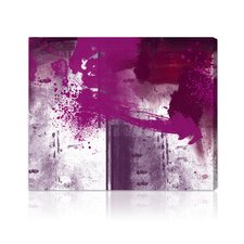 """Violet Substance"" Painting Print on Canvas"