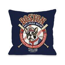 Doggy Décor Boston Brew Pillow