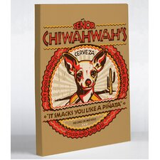 Doggy Decor Senor Chiwahwah Graphic Art on Canvas