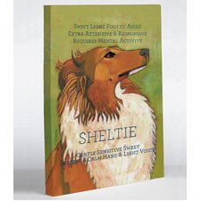 Doggy Decor Sheltie 1 Graphic Art on Canvas