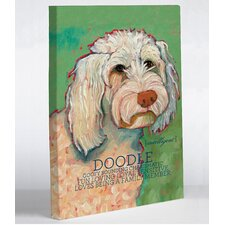 Doggy Decor Doodle 1 Graphic Art on Canvas