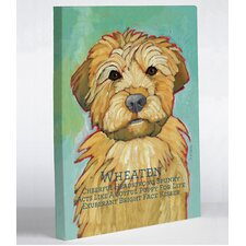 Doggy Decor Wheaten 1 Graphic Art on Canvas