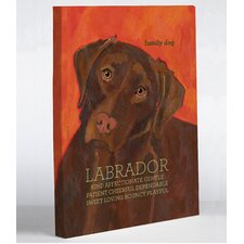 Doggy Decor Labrador 2 Graphic Art on Canvas