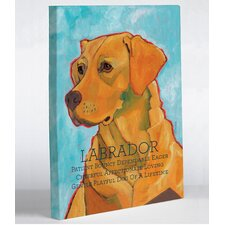 Doggy Decor Labrador 3 Graphic Art on Canvas