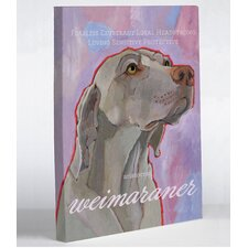 Doggy Decor Weimaraner 1 Graphic Art on Canvas