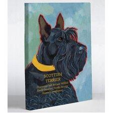 Doggy Decor Scottish Terrier 1 Graphic Art on Canvas