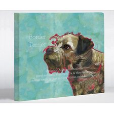 <strong>OneBellaCasa.com</strong> Border Terrier 1 Wall Decor