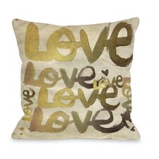 <strong>OneBellaCasa.com</strong> Oliver Gal Four Letter Word Pillow