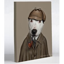 Pets Rock Detective Canvas