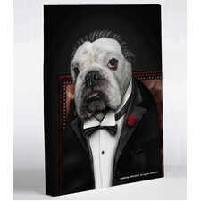 <strong>OneBellaCasa.com</strong> Pets Rock Dog Barker Canvas