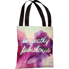 Oliver Gal Perfectly Fabulous Polyester Tote Bag
