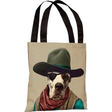 Pets Rock Cowboy Tote Bag