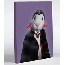 Pets Rock Dracula Canvas