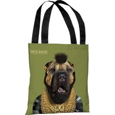 <strong>OneBellaCasa.com</strong> Pets Rock Fool Tote Bag