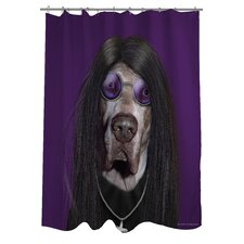 Pets Rock Metal Polyester Shower Curtain
