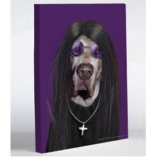 Pets Rock Metal Canvas