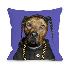 <strong>OneBellaCasa.com</strong> Pets Rock Rap Pillow