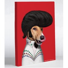Pets Rock Rock n' Roll Canvas