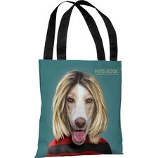 Pets Rock Grunge Tote Bag