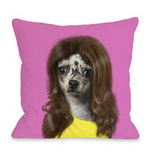 <strong>OneBellaCasa.com</strong> Pets Rock Wag Pillow