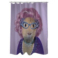 Pets Rock Possum Polyester Shower Curtain